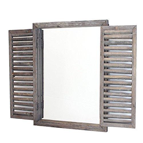 FRANK FLECHTWAREN Holzspiegel Fenster
