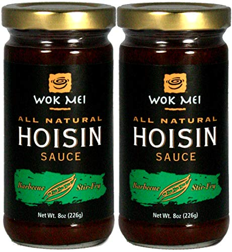 Wok Mei Gluten Free Hoisin Sauce, 8oz (2 Packs)