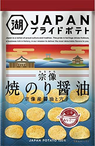 湖池屋 プライドポテト JAPAN 焼のり醤油 4袋