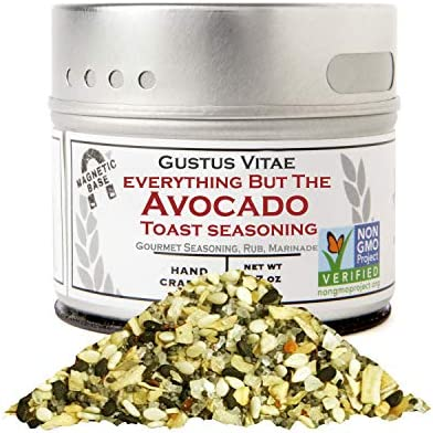 Everything But The Avocado Toast Authentic Gourmet Spice Mix Artisanal Seasoning Non GMO Project product image
