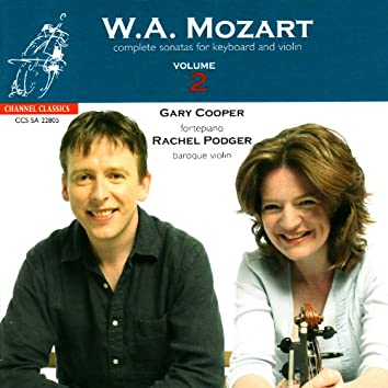 Mozart: Complete Sonatas for Keyboard and Violin, Vol. 2
