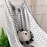 Baby Rocking Chair, Infant Hammock Swing Indoor Squat Seat Detachable Comfortable Bed Kit for Nursery Newborn Cradle Decor