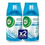 Air Wick Freshmatic Ricarica Spray Automatico, Freschezza di Lino e Lavanda, 2 Confezioni da 250 ml