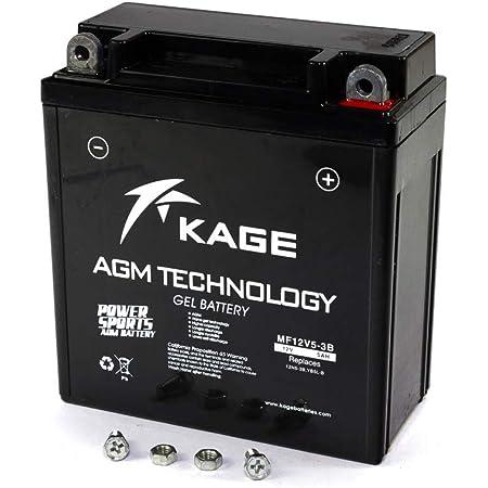 Yuasa 12n5 5 3b Y Batterie Offen 12n5 5 3b Offen Ohne Saeure Auto