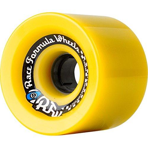 Sector 9 Race Formula Longboard Wheels 70mm - 78a OFFSET YELL