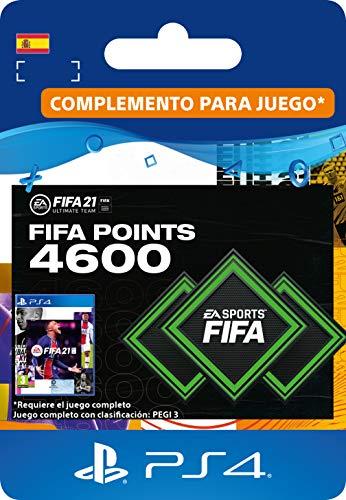 FIFA 21 Ultimate Team 4600 FIFA Points | Código de descarga PS4 (incl. upgrade gratuita a PS5) - Cuenta española