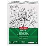 Derwent Academy Sketchbook, Heavyweight Paper, Topbound Sketch Book, 70 Sheets, 9' x 12' (54964)
