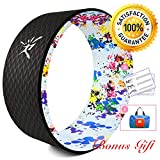 Yoga Wheel - Strongest Most Comfortable Dharma Yoga Prop Wheel for Yoga Poses