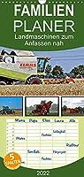 Landmaschinen zum Anfassen nah - Familienplaner hoch (Wandkalender 2022 , 21 cm x 45 cm, hoch): Von der Saat zur Ernte (Monatskalender, 14 Seiten )