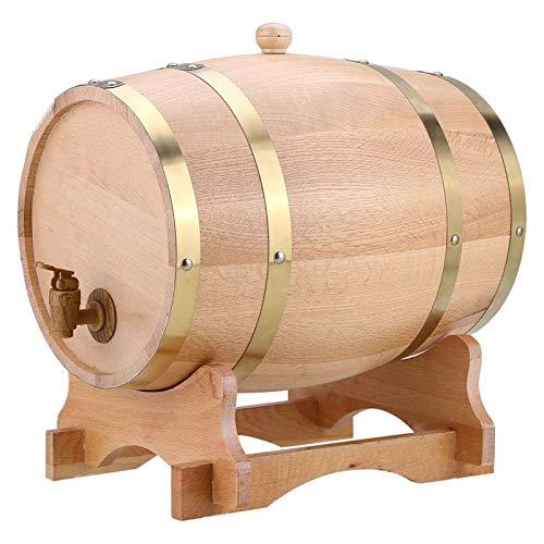 10 litros De Madera De Vino Barriles De Madera De Roble para Almacenamiento O Puerto De Cerveza Whisky Rum 10 litros
