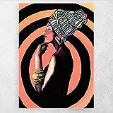 AZTeam Pinturas Mujeres Pintura Abstracta Lienzo Arte De La Pared Imagen Impresa Imágenes para La Decoración De La Pared del Hogar-50X70Cm Sin Marco