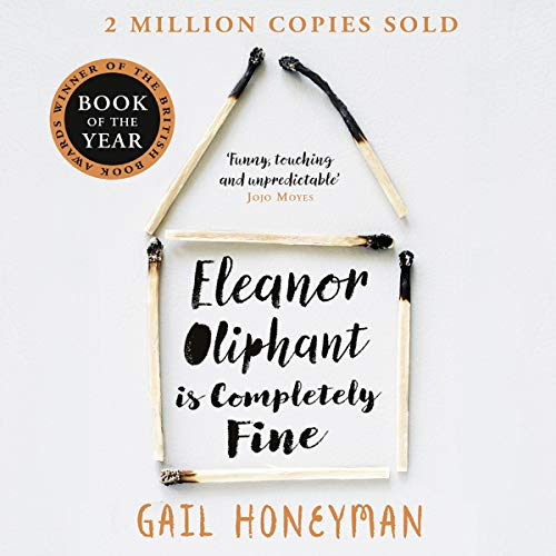 『Eleanor Oliphant Is Completely Fine』のカバーアート