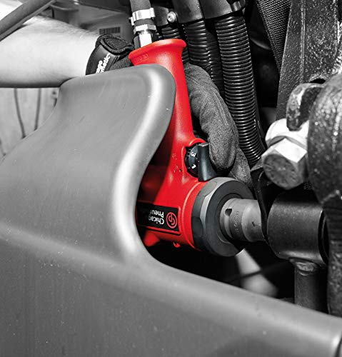 Chicago Pneumatic - 8940000000 CP7732 Ultra Compact Stubby Impact Wrench, 1/2-Inch Drive Red