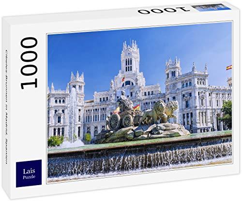Lais Puzzle Fuente de Cibeles en Madrid, España 1000 Piezas