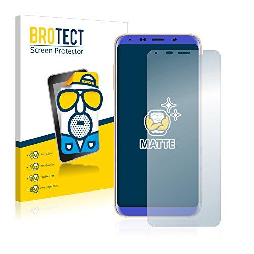 BROTECT 2X Entspiegelungs-Schutzfolie kompatibel mit Bluboo S8 Bildschirmschutz-Folie Matt, Anti-Reflex, Anti-Fingerprint