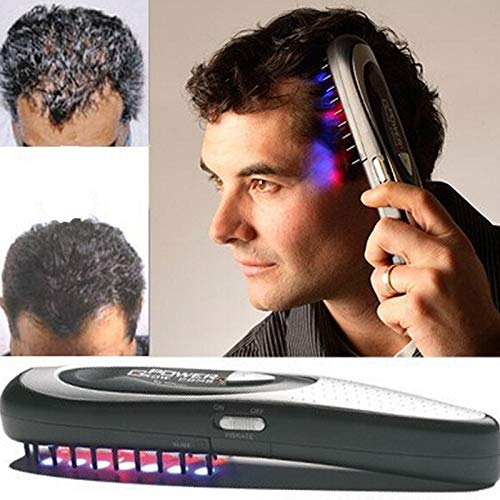 LWVAX Power Laser Hair Loss Therapy Hair Growth Comb (ABS, Standard)