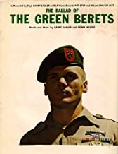 The Ballad Of The Green Berets Sheet Music (As Recorded by SSgt. Barry Sadler on RCA Victor Records)