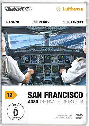 PilotsEYE.tv | SAN FRANCISCO A380 |:| DVD |:| Flightdeck LUFTHANSA | A380...