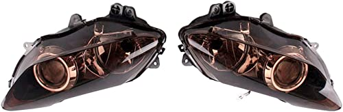 high quality Mallofusa Motorcycle Headlight popular Headlamp Assembly Compatible for Yamaha YZF outlet online sale R1 2007 2008 online