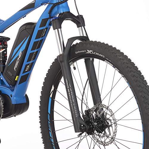 E-MTB FISCHER  MTB EM 18621 (2019) blau matt E-Mountainbike Bild 6*