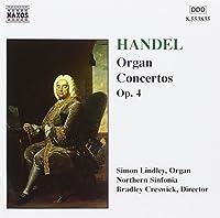 Organ Concertos Op 4 by GEORGE FRIDERIC HANDEL (1998-06-02)