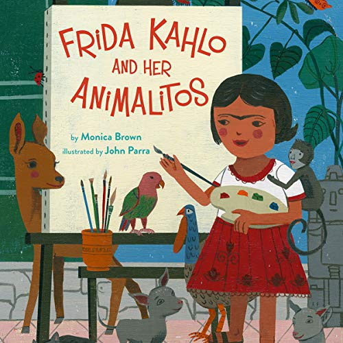 Frida Kahlo and Her Animalitos audiobook cover art