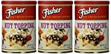 Fisher Nut Topping Ice Cream Toppers 5 Oz. (Pack of 3)