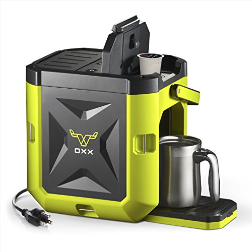 OXX COFFEEBOXX Job Site Single Serve Coffee Maker,...