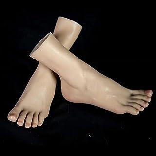 عارضات ضات سيليكون قدم قدم قدم - 36A نموذج القدم - الأوعية الخارجية الخارجية مزودة بتفصيلة 2019 الكاحل هواية - ثقافة ملو...