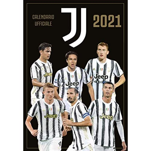 Calendario Juventus 2021 cm 29x42 - prodotto ufficiale