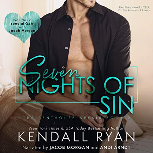 Seven Nights of Sin  audiobook cover art