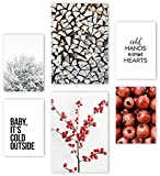 Mia Félice Premium Poster Set » Winter « 2x A3 | 4x A4 -