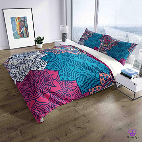 Flutterfly duvet cover king size superk duvet cover queen superk bedding set bed set queen housse de couette superking Boho Bohemian (1044-1201) design