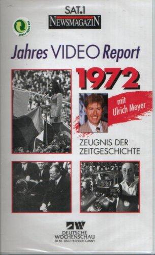 JAHRES VIDEO REPORT 1972 - Zeugnis der Zeitgeschichte - Deutsche Wochenschau