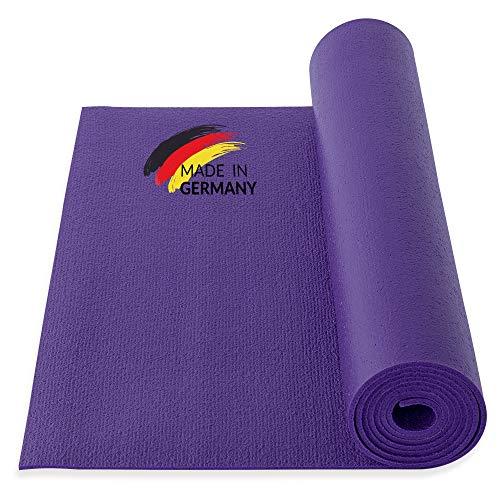 Yogibato Yogamatte Studio PVC Ökotex 100 – Made in Germany – rutschfest & Schadstofffrei – Matte für Gymnastik Pilates Sport Fitness – Yoga...