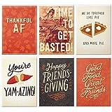 Hallmark Studio Ink - Juego de tarjetas de felicitación de acción (6 tarjetas con sobres)