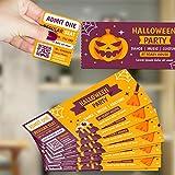 Custom Event Tickets – Frontal sólo con 2' Perforación, entrada Raffle Ticket para conciertos, bebidas gratis, bodas, eventos de trabajo o barra de fiesta