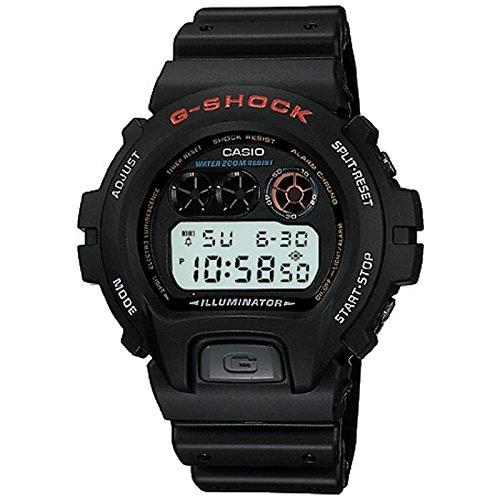 Casio Reloj Digital para Hombre de Cuarzo con Correa en Plástico DW-6900-1VDR