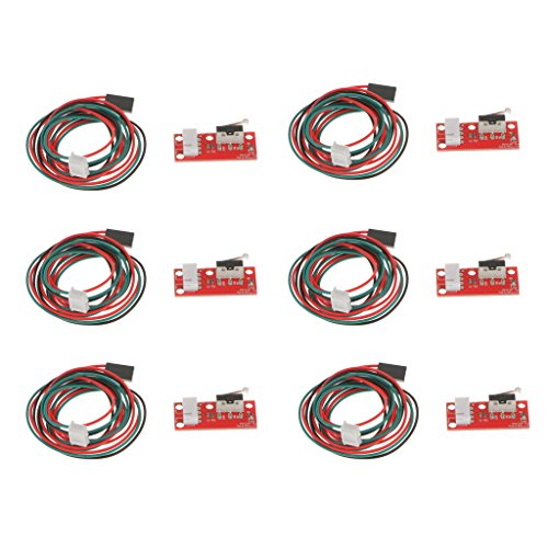 CNC 3D Printer Mechanical Optical Limit Switch Endstop with Cable for Ramps 1.4 Makerbot Prusa Mendel RepRap GTIWUNG 8Pcs Optical Endstop Light Control Limit Switch