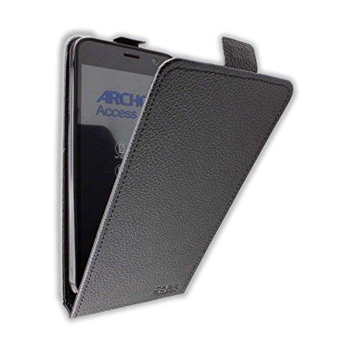 caseroxx Flip Cover für Archos Access 55, Tasche (Flip Cover in schwarz)