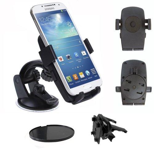 IMOOVE Ibroz–Auto Facile da Auto Ventosa Universale per Ventilazione, Parabrezza o cruscotto per Smartphone iPhone 3, 4, 4S e 5, Samsung Galaxy S2e S3e S4/HTC/Sony Xperia/Nokia Lumia/LG.