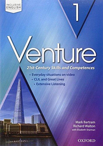 Venture: standard. Student book-Workbook. Per le Scuole superiori. Con espansione online: Venture: standard. Student book-Workbook. Per le Scuole superiori. Con espansione online: 1