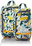 Kipling PACK THINGS Organizer per valigie, 1 cm, liters, Multicolore (Camo Map)...