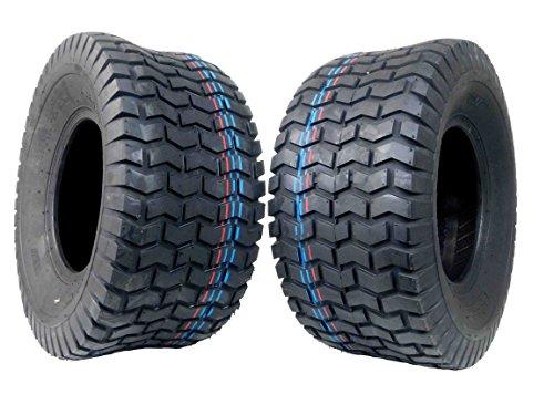 Tire 2 Set MASSFX Golf Cart Tires 18x8.5-8 MO18858 4 PLY 5mm Tread 18x8.5x8