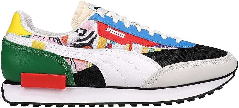 PUMA Mens Future Rider Intl Game Platform Sneakers Shoes Casual - Multi