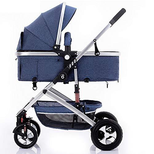 Kinderwagen mit Kindersitz, Kinderbett-Schlafzimmer, Getränkehalter, leicht, klein zusammenklappbar