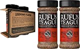 Rufus Teague - Steak Rub Seasoning, Gluten Free, No MSG 6.2 oz (Pack of 2)