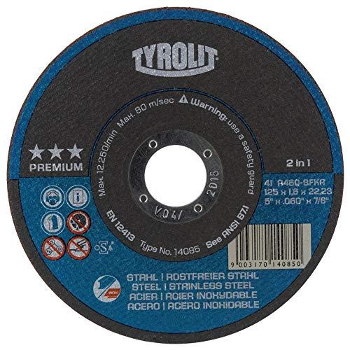 TYROLIT Trennscheibe Premium*** 2in1 | 230x2,5 mm | gerade | Form 41 | 1 Stück