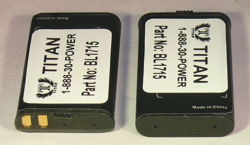 2 Batteries for Two-Way Radios Hytera HYT TC-320 BL1715 with 18 Month Warranty