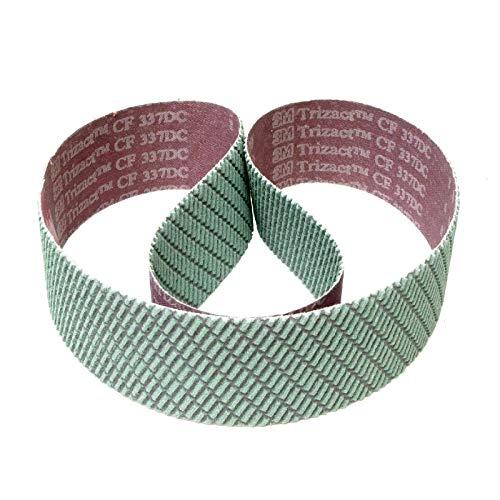 3M Trizact 337DC CF Schleifband für Messermacher | 50 x 1500 mm | 1 Stück | Körnung: A045 (P400)